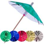 Drinks paraplyer METALLIC 15 stk.