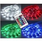 LED STRIP 5,0 METER 30 LED/METER RGB MED FJERNBETJENING