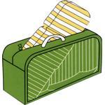 CONZEPT Overtræk til havemøbler hyndepose 130 x 30 x 52 cm.