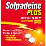 Solpadeine Plus Soluble Tablets 16