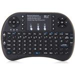 Air mouse keyboard control Fjernbetjeninger Rii i8 Plus 2.4G Wireless Touch Pad Fly Air Mouse Backlit Gaming Keyboard Control with Multi-touch
