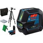 BOSCH GCL 2-50 G Kombilaser, 4x AA Battery + Stativ BT 150, 0601066M01