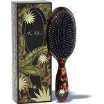 Fan Palm Tortoise Shell Hair Brush Medium
