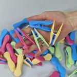Tøjklemmer - Vælg farve