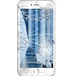 iPhone 6 Skærm Reparation - LCD/Touchskærm - Hvid - Grade A