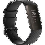Silicone rem til Fitbit Charge 3 / 4-Sort