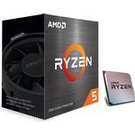 AMD Ryzen 5 5600X Wraith Stealth CPU - 6 kerner 3.7 GHz - AMD AM4 - AMD Boxed (PIB - med køler)