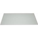Silverline stænkplade glas 800x450 mm - Hvid
