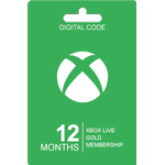Xbox Live Gold 12 Måneders