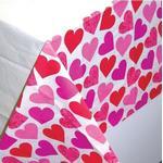 Papirsdug med hjerter