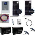 Solcelleanlæg SC200 Solarix med batteri 200Ah/12V og inverter 1,0kW