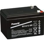 Exide Powerfit S312/12 SR Blei Akku mit Faston 6,3 mm 12V, 12000mAh