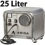 Arida Pro S25 fastmonteret sorptionsaffugter med ekstern hygrostat