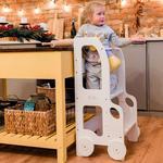 Læringstårn med justerbar højde til børn