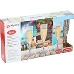 Alpina Champagneglas i plast 6-pak