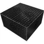Faskine aquablok 256 liter t/36 m² tagflade