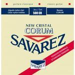 Savarez 500CR New Corum spansk guitar-strenge, rød