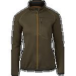 Seeland Hawker full zip fleece Women - Pine green - XXL