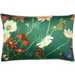Paoletti Wild Fauna Cushion Cover (One Size) (Emerald Green)