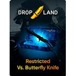 Counter-Strike: Global Offensive RANDOM BY DROPLAND.NET GLOBAL Code RESTRICTED VS. BUTTERFLY KNIFE SKIN