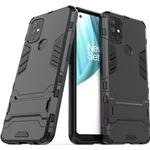 Armor Series OnePlus Nord N10 5G Hybrid Cover med Stand - Sort