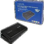 Logilink external harddisk enclosure 3.5 inch s-ata usb 3.0 alu