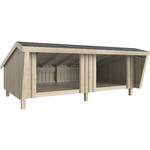 PLUS shelter dobbelt 291x170x279 cm