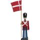 KAY BOJESEN Fanebærer med tekstilflag