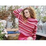 Petra - En fantastisk farverig sweater