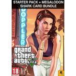 Grand Theft Auto V: Premium Online Edition&Megalodon Shark Card Bundle Rockstar GSC
