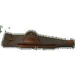 "CROOTS Rosedale Rifle Slip 45"", håndtag, kanvas, dark loden/london tan"