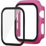 Apple Watch SE/6/5/4 (44mm) Panserglas + Cover - Pink