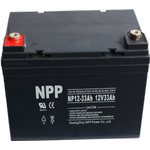 NPP Power Batteri til Golfvogn & havetraktor 12v 33Ah