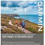Garmin TOPO Frankrike v5 PRO, nordväst Garmin microSD™/SD™ card