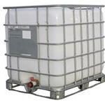Brugt Palletank 1000 liter med tappehane - Vasket ind og udvendigt