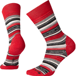 SmartWool Margarita Women - Crimson/Black - M