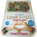 Loom Bands (Bandz) Annual 2015 - Includes Guide Book To Looming - Fun Party Rubber *Crazy tilbud*