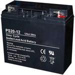 AGM/GEL, Solar batteri, med dybde afladning, 12V, 20-100Ah