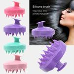 Hair Scalp Massager Shampoo Brush Head Scalp Massage Brush Remove Dandruff Promote Hair Growth Shampoo Brush