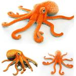 Giant Simulated Octopus Stuffed Toy, Sea Animal Doll Plush Toys For. - octopus - about 80X25cm