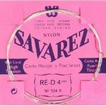 Savarez 524R D4 løs spansk guitar-streng, rød