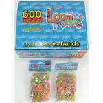 Loom Bands (Bandz) - 600 Loom Twister Bands Elastik - Fun Party Rubber *Crazy tilbud*