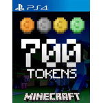 Minecraft: 700 Tokens (PS4)
