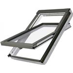 Fakro vippevindue 78x140cm hvid akryl m/inddækn. til bølget tag (PAKKETILBUD)