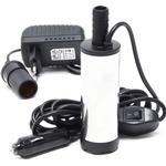 Dykpumpe - Til diesel, olie, fyringsolie & vand 12V-230V - 12-15 Liter/min