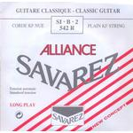 Savarez 542R Alliance H2 løs spansk guitar-streng, rød