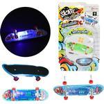Mini skateboard med lys