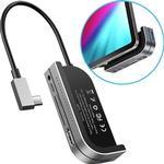 Baseus GN39F Multifunktionel USB-C-hub - Mørkegrå