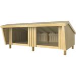 PLUS Shelter dobbelt - Ubehandlet