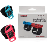 Arm Band, Wristband, Adjustable Strap, Nintendo Switch For Joy, Con Just Dance, Breathable Hand Straps - As Seen on Image